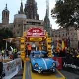 Rallye Montecarlo Historico salida desde Barcelona