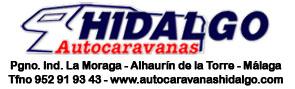 Publicidad Autocaravanas Hidalgo