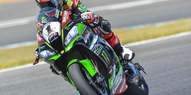 Entrenamiento de Kawasaki en Jerez