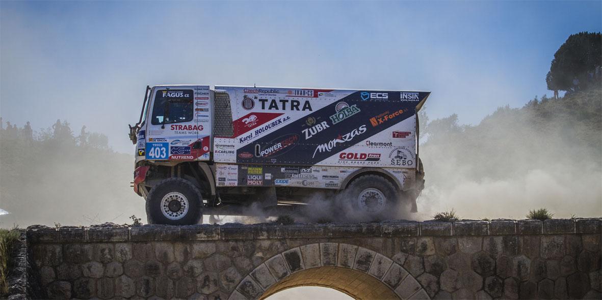 Baja Aragón Camión Tatra
