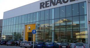 Fachada de Renault Tahermo el día de su inauguración