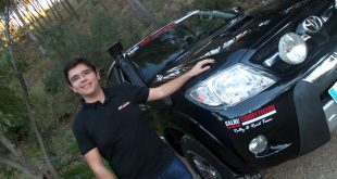Salvador Rubén Marín piloto de Rallyes Todo Terreno.