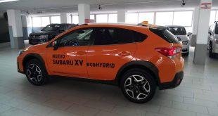 Subaru XV Ecohybrid.