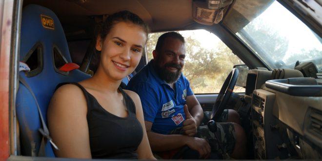 El equipo malagueño formado por Manuel Campos y Raquel Cecilia se prepara para su participación en la Baja Andalusía 2020.