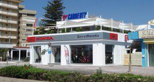 Cabberty comparte instalaciones con Servihonda Fuengirola.