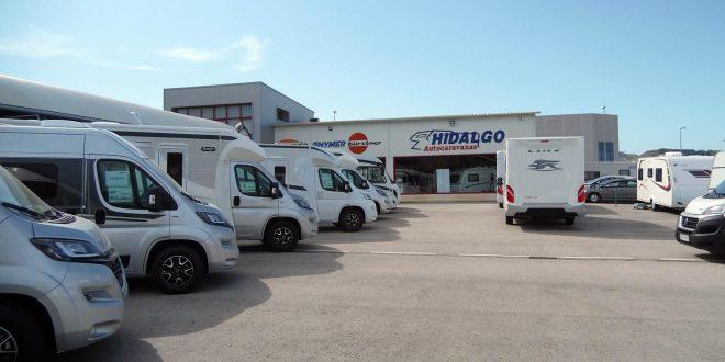 Instalaciones de Autocaravanas Hidalgo en Málaga.