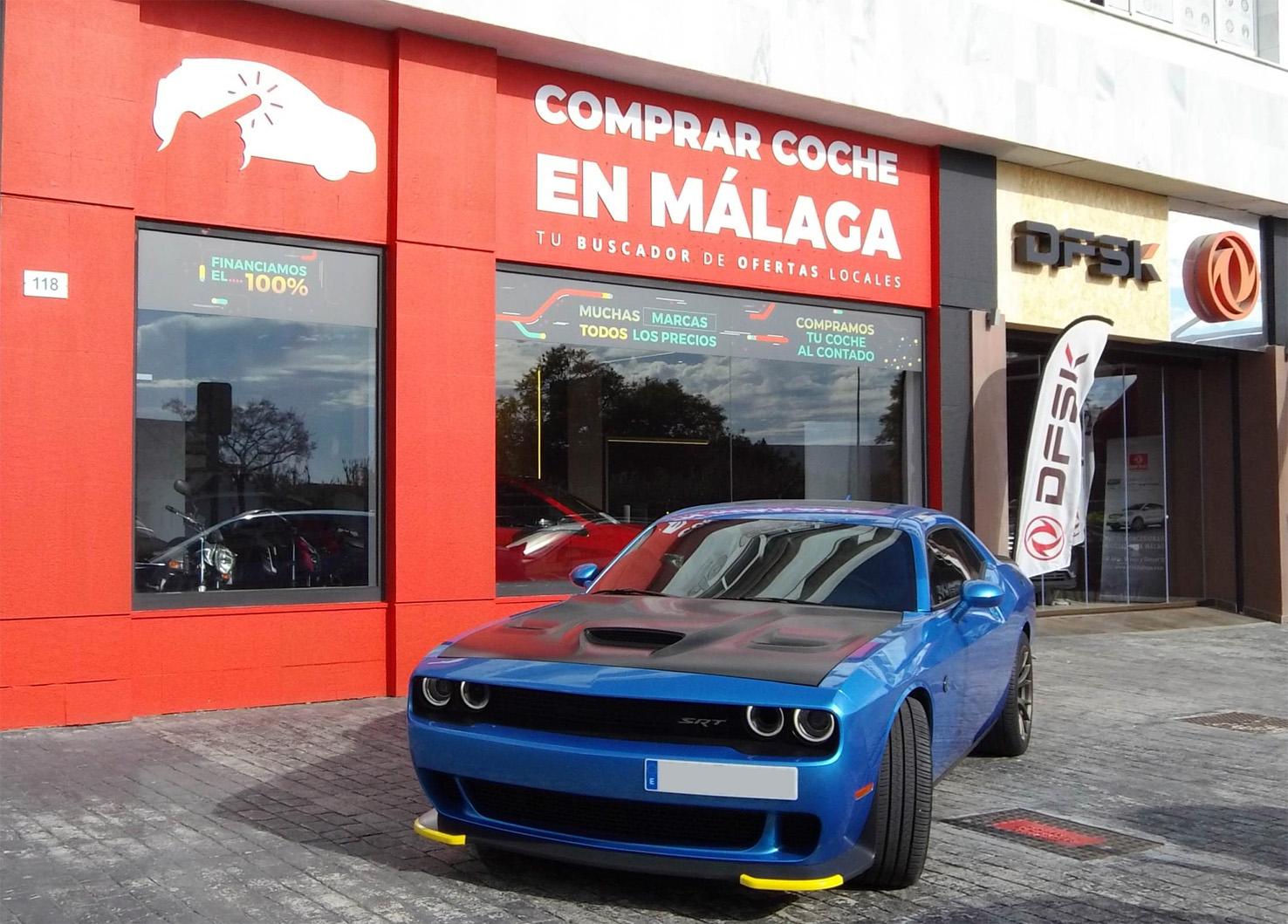 Dodge Challenger SRT Hellcat en DFSK Málaga.