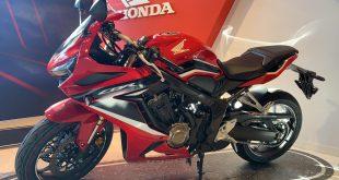 La Honda CBR650R 2021 ya se encuentra en las instalaciones de Servihonda Marbella
