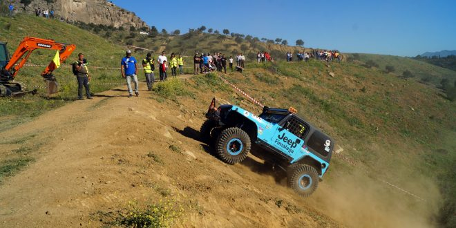 Equipo Team VanEli con Jeep Wrangler.