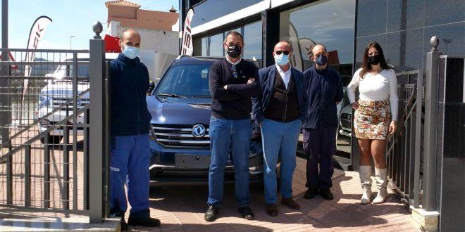 Presentación de las jornadas de puertas abiertas DFSK Málaga en el Sanatorio del 4x4.