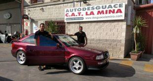 El equipo Salru Competición, con el patrocinio de Autodesguace CAT La Mina y Gruías Texeira, participará en el Rally Sierra Morena 2021 en la categoría de Regularidad