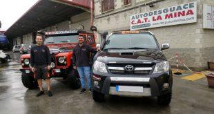 El equipo malagueño Salru Competición volverá a contar con el apoyo y colaboración de Autodesguace CAT La Mina