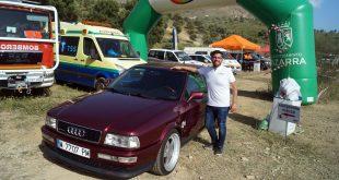 El piloto malagueño Salvador Rubén Serrano prepara la temporada automovilística 2021