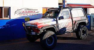 Autodesguace La Alberca patrocinará el equipo malagueño Team Zapatito 4×4 en su participación en el Campeonato Extremo de Andalucía CAEX 4×4 2021