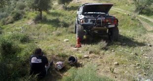 Una avería eléctrica en el cabrestante deja sin opciones de podio al equipo malagueño Team Zapatito 4×4 en la primera prueba del Campeonato Extremo de Andalucía CAEX 4×4 Pizarra 2021